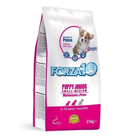 Forza10 PUPPY JUNIOR MAINTENANCE Small/Medium Pesce из рыбы