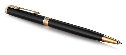 Шариковая ручка Parker Sonnet Slim Lacquer Deep Black GT
