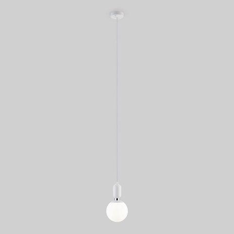 Подвесной светильник с длинным тросом 1,8м 50158/1 белый