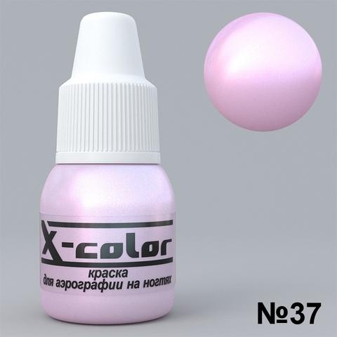 Краска для аэрографии - №37 Розовый перламутр 5мл