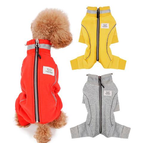 413 PA - Теплый коcтюм для собак на меховой подкладке для девочек