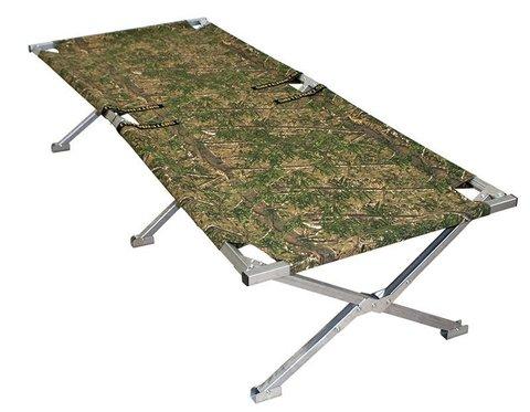 Раскладушка туристическая - походная кровать Сибтермо (195*65 см)