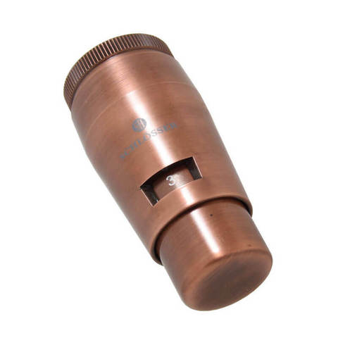 Термостатическая головка MINI M30x1,5 Античная Медь