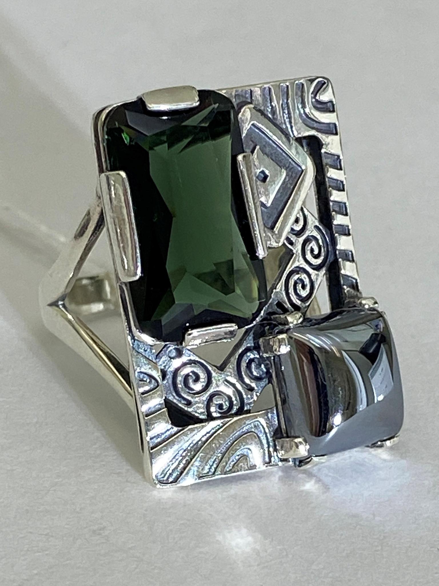 Чероки (кольцо из серебра)