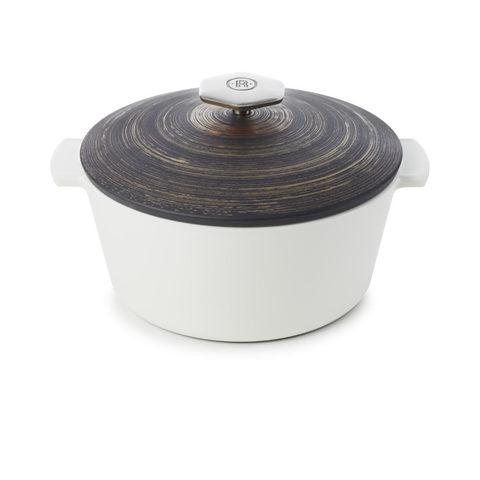 Фарфоровая кокотница Cuivre для газовой плиты, графит/медь , артикул 653401, серия Revolution 2