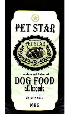 PET STAR Maintenance Сухой корм для взрослых собак всех пород 16 кг.