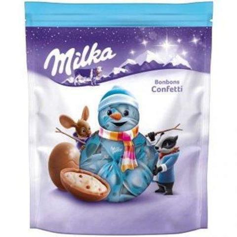 Шоколадные конфеты Milka Bonbons Confetti 86 гр