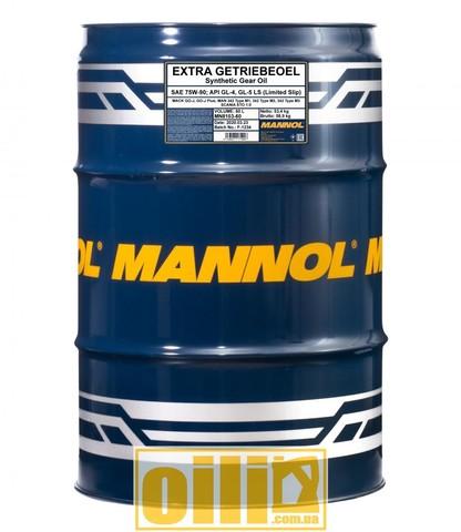 Mannol 8103 EXTRA GETRIEBEOEL 75W-90 GL-4/GL-5 LS 60л