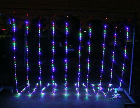 LED гирлянда светодиодная водопад