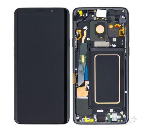 LCD SAMSUNG Galaxy S9 G960F + Touch + Frame Black Orig