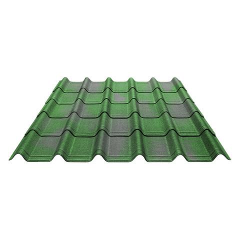 Ондувилла зеленый 1060х400 мм