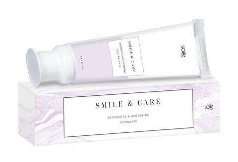Зубная паста отбеливающая антикариес SMILE & CARE Anticavity & Whitening, 70 ml
