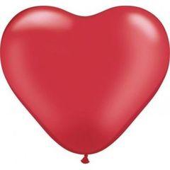 Q Сердце Пастель Красный 90 см