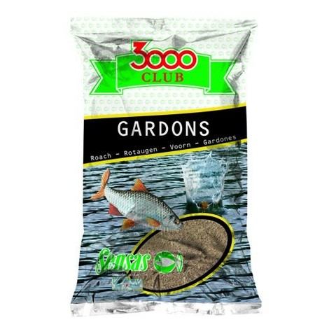 Прикормка Sensas 3000 Club GARDONS 1кг