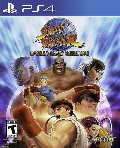 Street Fighter 30th Anniversary Collection (PS4, русская документация)