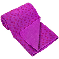 Йога полотенце (коврик для йоги)  1,83мx0,63м, микрофибра, силикон