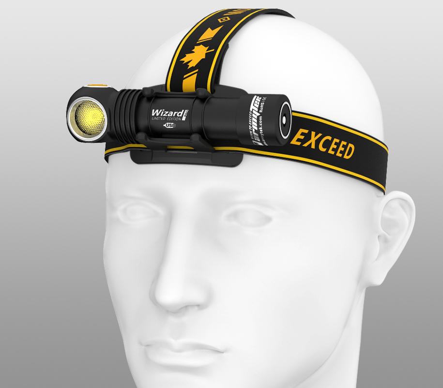 Мультифонарь Armytek Wizard Pro Magnet USB Nichia LED (Тёплый свет) - фото 1