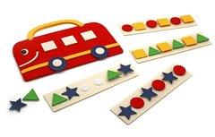 Сумка-игралка Автобус, Smile decor