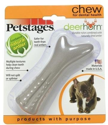 Petstages Игрушка для собак Petstages Deerhorn, с оленьими рогами 12 см маленькая 8f0dfdba-e1c3-11e4-bc09-001517e97967.jpg