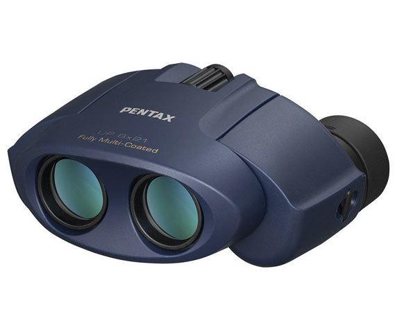 Бинокль Pentax UP 8x21 синий - фото 1