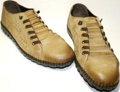 Туфли мокасины мужские Luciano Bellini 31503 беж