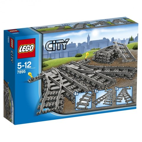 LEGO City: Железнодорожные стрелки 7895 — Switching Tracks — Лего Сити Город