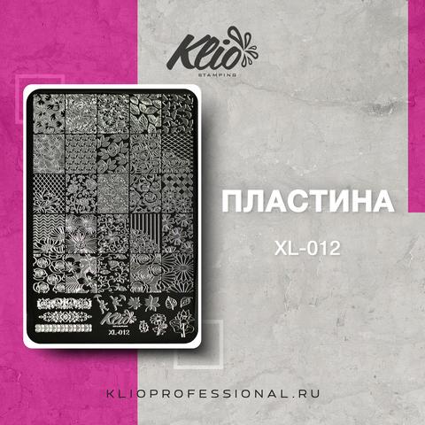 ПЛАСТИНА ДЛЯ СТЕМПИНГА KLIO PROFESSIONAL XL-012
