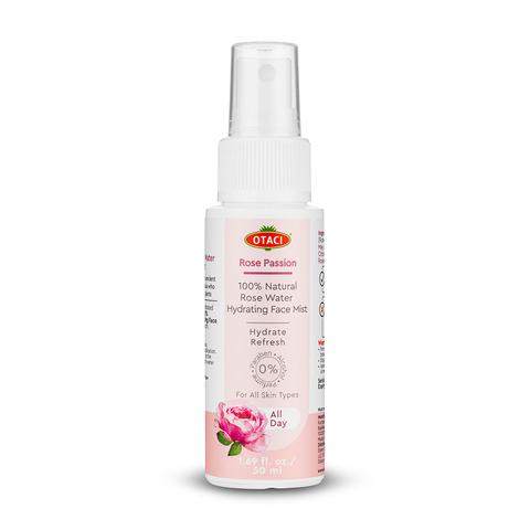 Страстная роза. 100% розовая вода. Увлажняющий спрей