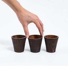 Набор рюмок из дерева «Сосна», фото 1
