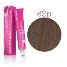 Matrix SOCOLOR.beauty: Silver Pearl 8Sp светлый блондин серебристый жемчужный, краска стойкая для волос (перманентная), 90мл