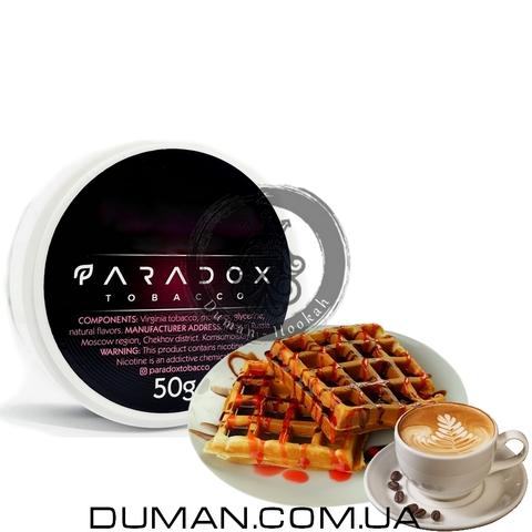 Табак Paradox Waffles Cappuccino (Парадокс Вафли Капучино) | 50g
