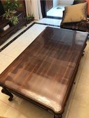 Мягкое стекло для письменного стола ширина 70 см. длина до 230 см.