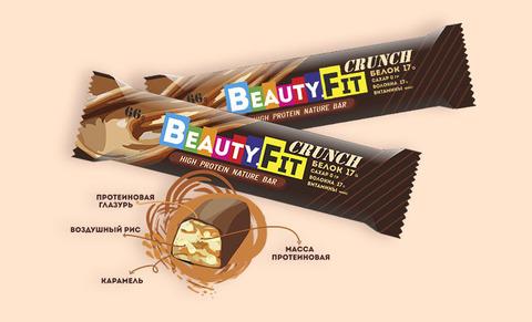 Протеиновый батончик «Beauty.Fit» Кранч, без сахара