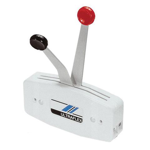 Контроллер 2-х рычаговый вертикального крепления, белый
