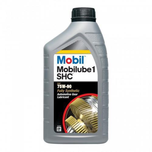 Купить на сайте официального дилера HT-OIL.RU MOBIL MOBILUBE 1 SHC 75W-90 трансмиссионное масло для МКПП синтетическое артикул 152659, 142123 (1 Литр)