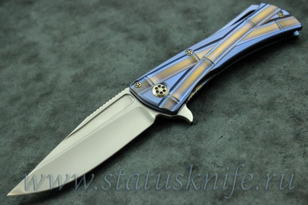 Нож Marfione/Koji Hara Closer w/MirrorPolish