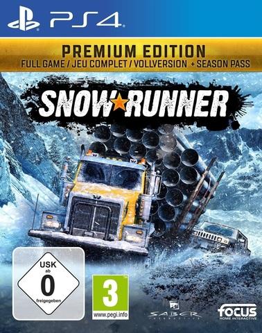 SnowRunner. Premium (PS4, русская версия)