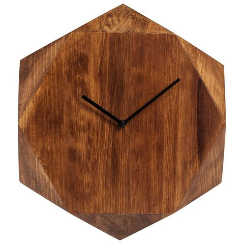 Wall Clock Wood Job