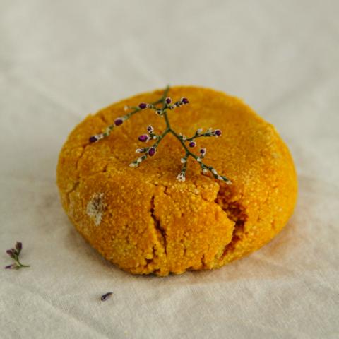 Твёрдый шампунь с апельсином