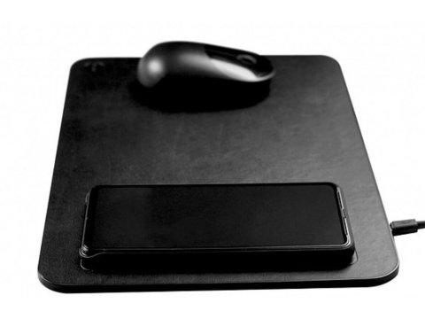 XiaoMI коврик Charging Mouse Pad /black/