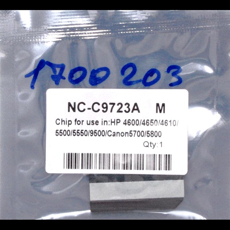 Чип (CHIP) MAK© C9723A-C9733A пурпурный (magenta).