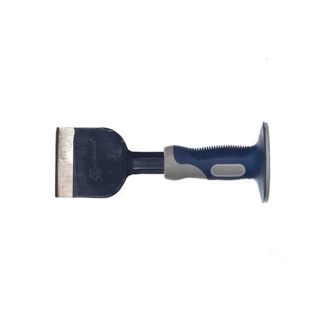 Зубило-конопатка КОБАЛЬТ 70х215 с протектором (249-617)