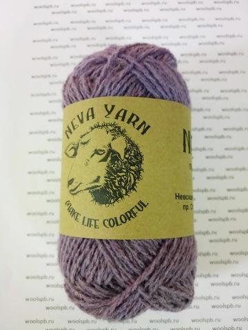 Натуральная овечья шерсть тонкорунных пород  50г/140м (Neva Yarn)