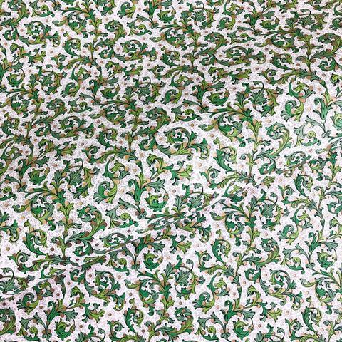 Бумага декоративная упаковочная Флорентийская зеленая