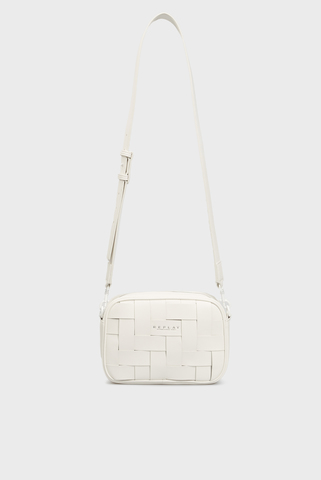 Женская белая сумка Replay