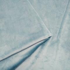 Бархат матовый стрейч, ворс 0,5 мм., дымчатый ментол (выбрать  размер)
