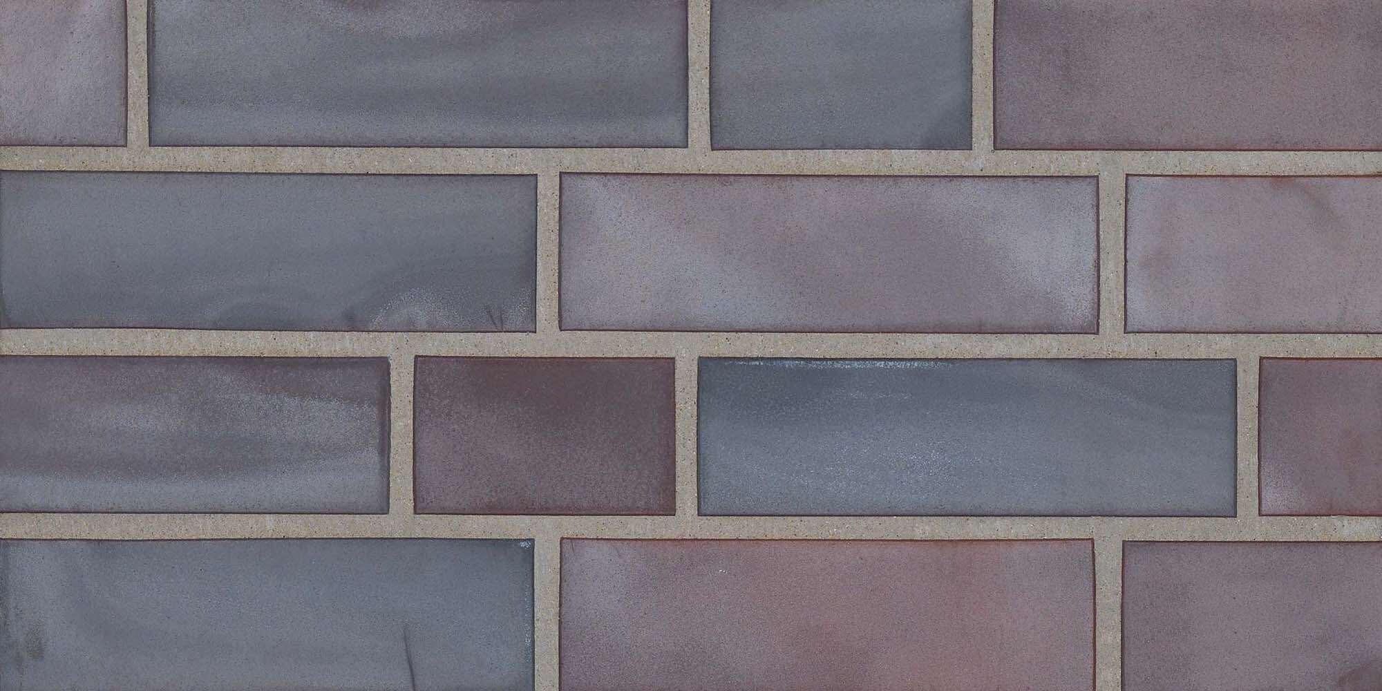 Stroeher - 325 achatblue flashed, Keravette, unglasiert, неглазурованная, гладкая, 240x71x11 - Клинкерная плитка для фасада и внутренней отделки
