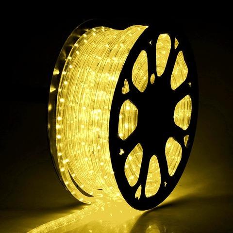 Шланг теплобелый 50 метров LED цена купить гирлянду