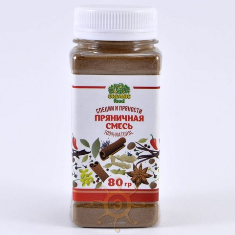 Пряничная смесь Organic food, 80г