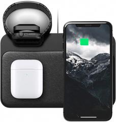 Тройное беспроводное зарядное устройство Nomad Base Station Watch Edition NM30045A00 (Black)